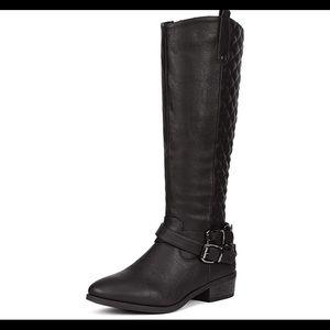 0497 Women's Winter Knee High Boots